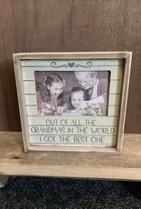 Out of All the Grandmas (4x6) Frame