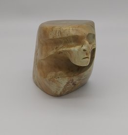 Native American Indian Carving from Southwest US, Alabaster, 1989