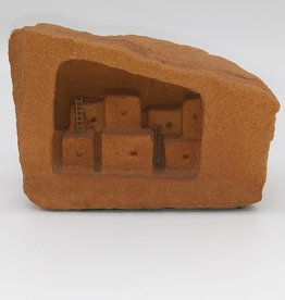 Sandstone Art Carving, Pueblo Design, SW USA piece,  5x4