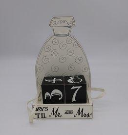 Days 'Til Mr and Mrs Perpetual Calendar