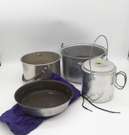 Mirro Nesting Camp Cookware Set w/ Coffee Pot