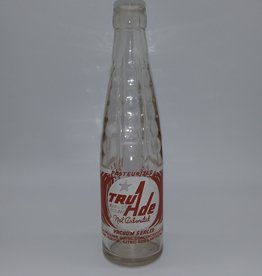 "Vintage 1950's Tru-Ade ""Not Carbonated"" Juice Drink Pyro Bottle"