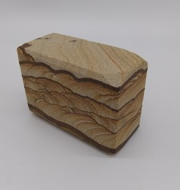 "Sandstone Artwork 3""x 2""x 1 3/4"""