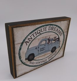 Keystone Wholesale Antique Dreams Block Sign