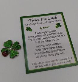 Twice the Luck Pocket Charm
