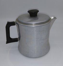 Mirro 2 Qt. Aluminum  Coffee Pot Base w/lid (no basket), c.1950