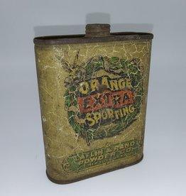 Laflin & Rand Powder Co. Full Gunpowder Tin Orange Extra Sporting c.1900
