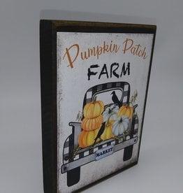 """Pumpkin Patch Farm Shelf Sitter 4x6"""""""