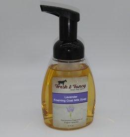 Keystone Wholesale Fresh & Fancy Lavender Foaming Goat Milk Soap 8.75oz
