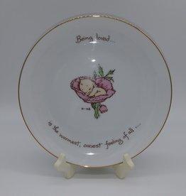 """Being Loved Kewpie Collector's Plate 1973 8"""""""