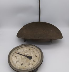 Chatillon & Sons 20 lb Hanging Scale Type 33 Serial H