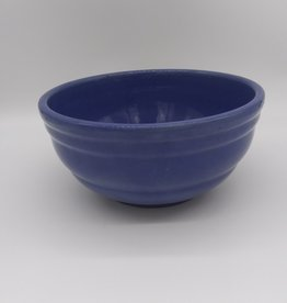 "Pfaltzgraff York P Blue Mixing Bowl 10 "" 1930's"