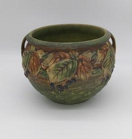 Roseville Pottery Blackberry Jardiniere 623-6, c.1932, Exc