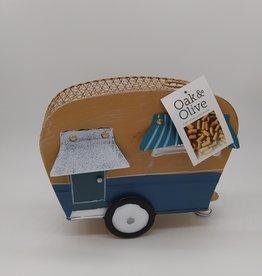 "Camping Trailer Cork Caddy 10"""