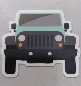 "Jeep Sticker 3x3"""