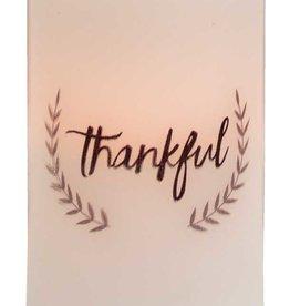 "Thankful Timer Pillar 5"""