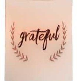 """Grateful Timer Pillar Candle 4"""""""