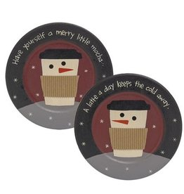 Have Yourself a Merry Little Mocha Plate