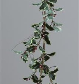 """Holly w/Berries Garland 57"""""""