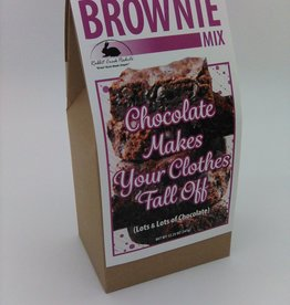 Rabbit Creek Chocolate Makes Your Clothes Fall Off Brownie Mix 12.25 oz