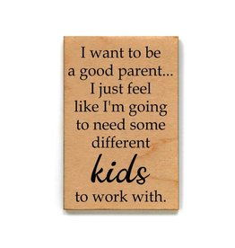 I Want To Be a Good Parent...Magnet