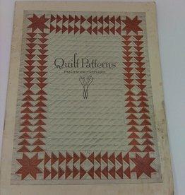 Quilt Patterns Patchwork and Applique Ladies Art Company copyright1928
