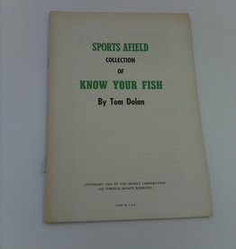 Sports Afield Know your Fish by Tom Dolan 1960 cover missing