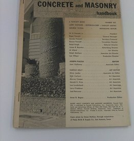 Handy Man's Concrete and Masonry Handbook no 303, 1956 cover missing
