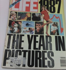 Life Magazine 1987 The Year in Pictures January 1988