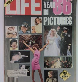 Life Magazine 1986 The Year in Pictures January 1987