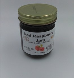 Red Raspberry Jam(No Sugar Added) 9oz