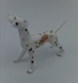 "Vintage Shiken Bone China Dalmation Collectible Figurine 2.25"""