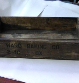 Vintage Ward Baking Co. Crate 1950's