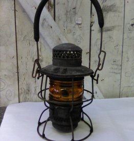Antique Adlake Kero Railroad Lantern 254, 1921-23