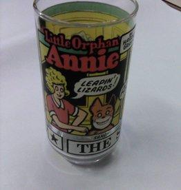 "Vintage Little Orphan Annie Tumbler 5.5"""