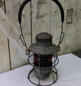 Antique Adlake Kero Railroad Lantern 1-65 1920-30's