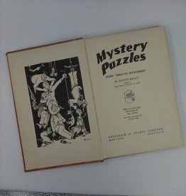 Mystery Puzzles by Austin Ripley, illustrated by Dr. Seuss, 1937 5.5x8.25""
