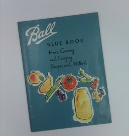 Ball Blue Book Home Canning and Freezing, 1956