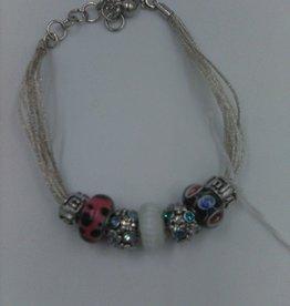 Bauble Lulu Charm Bracelet (5 charm)