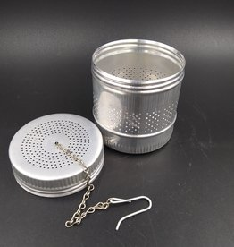 Vintage Large Aluminum Tea Infuser