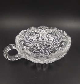 Vintage Pressed Glass Candy/Nut Dish 5""