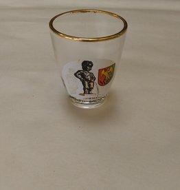 Manneken Pis Brussel Shot Glass