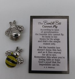 Bumble Bee Pocket Charm