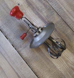 Vintage Androck Jar Egg Beater (fits Pyrex 532 1qt) 1930-40's