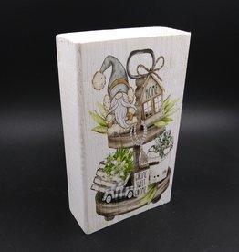 "Gnome Sweet Gnome Shelf Sitter 2x4x6"""
