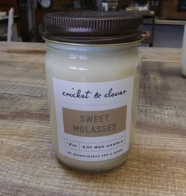 Cricket & Clover Cricket & Clover Sweet Molasses Soy Wax Candle
