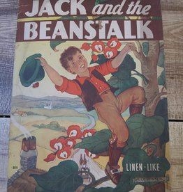 Jack and the Beanstalk (Linen-Like) by Milo Winter 1939