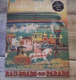 Book of the Pageant Railroads On Parade New York World's Fair 1940