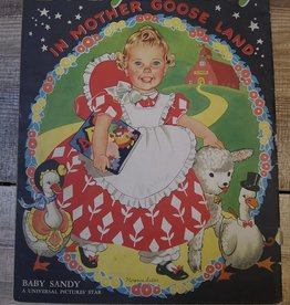 Baby Sandy In Mother Goose Land  #3425 1940