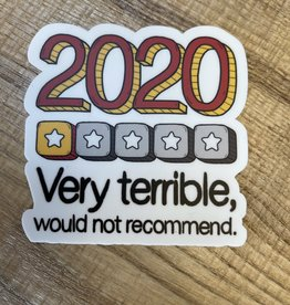 2020 In Review Sticker